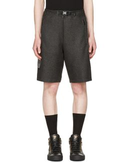 Black P-ros Shorts