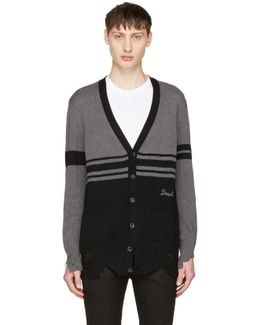Black & Grey K-obain Cardigan