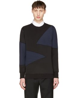 Black & Navy S-barbet Sweatshirt