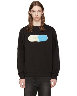 Black S-kalb-qa Pill Sweatshirt
