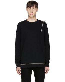 Black S-icicle Sweatshirt