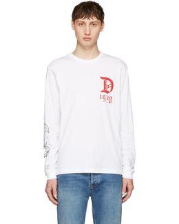 White T-joe-ls-qa T-shirt