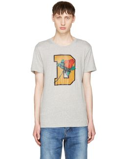 Grey T-diego-qq T-shirt