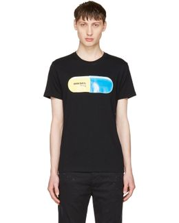Black T-diego-qh Pill T-shirt