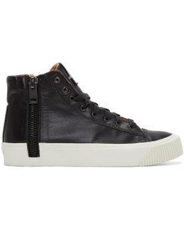Black S-voyage High-top Sneakers