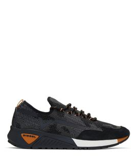 Black & Grey S-kby Sneakers