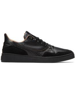 Black S-vip Sneakers