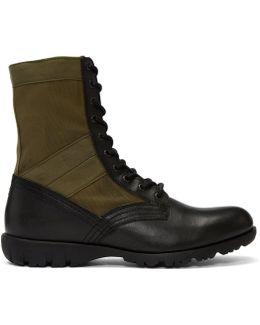 Green D-24x7 Boots