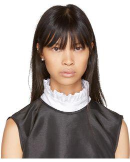 White Mona Bib Collar