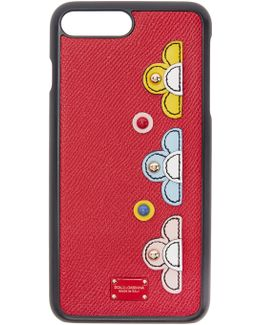 Red Flower Iphone 7 Plus Case