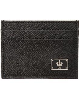 Black Crown Cardholder