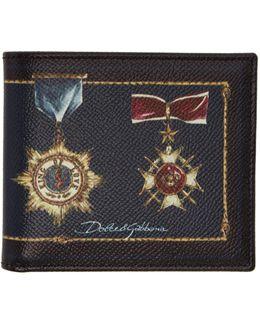 Black Medal Wallet