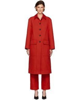 Red Lockwood Coat