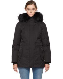 Black Down Danika Jacket