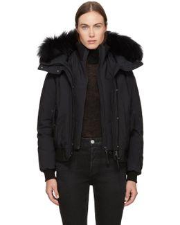 Black Down Britnie Jacket