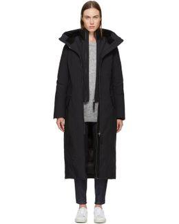 Black Down Rebeka Jacket