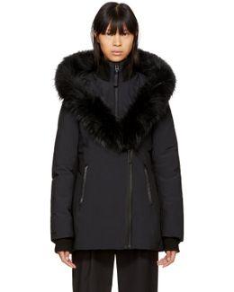 Black Down Adali Coat