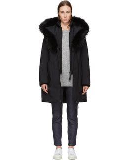 Black Down Kay-p Coat
