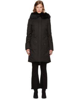 Black Down Enia Jacket