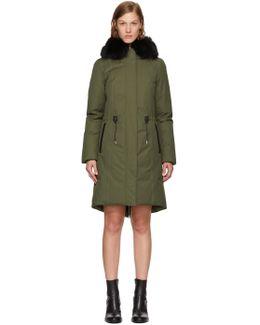 Green Down Enia Jacket