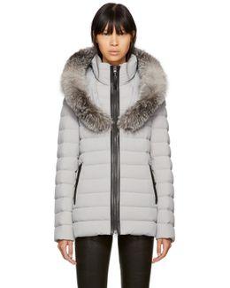 Grey Down Kadalina Jacket