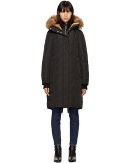 Black Down Harlin Coat