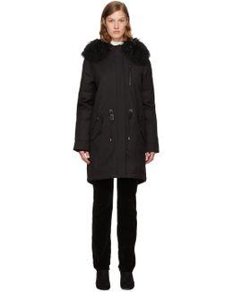 Black Down Renata Coat