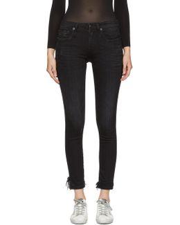 Black Alison Crop Jeans
