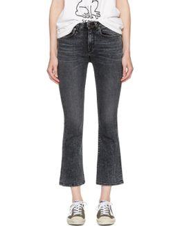 Black Kick Fit Jeans