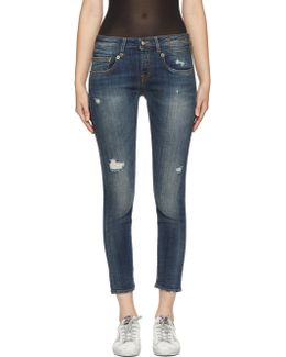 Blue Boy Skinny Jeans