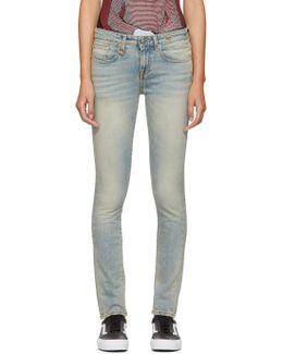 Blue Alison Skinny Jeans