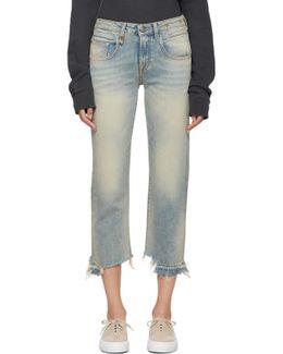 Blue Boy Straight Jeans