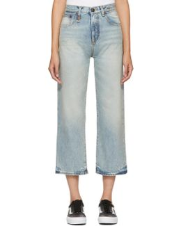 Blue Camille High-rise Jeans