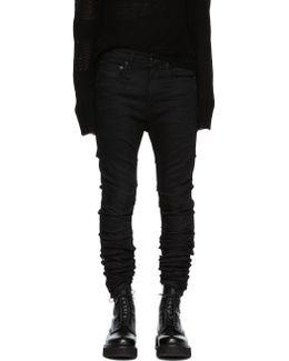 Black Skywalker Skinny Jeans