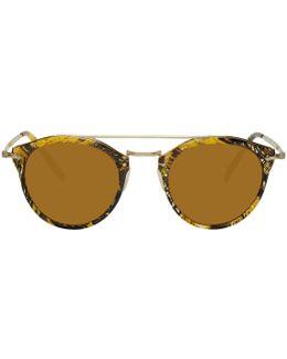 Gold Remick Sunglasses