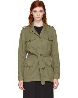 Green Bennett Military Jacket