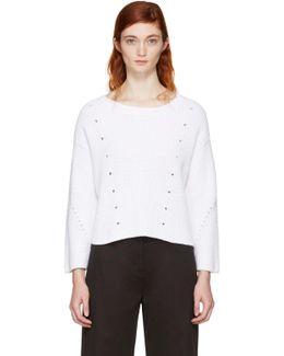 White Lara Sweater