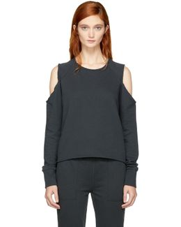 Black Standard Issue Slash Sweatshirt