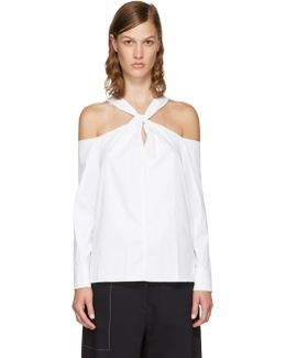 White Collingwood Blouse