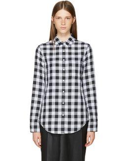 Black & White Classic Gingham Shirt