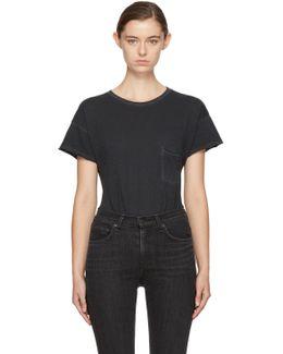 Black Vintage Pocket T-shirt