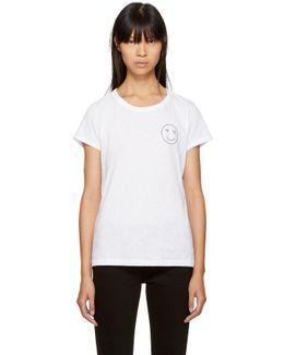 White Love Face T-shirt