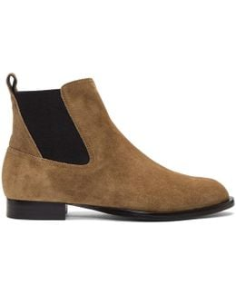 Tan Suede Mason Boots