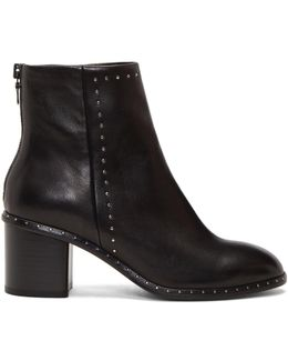 Black Willow Stud Boots