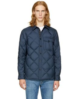Navy Mallory Shirt Jacket