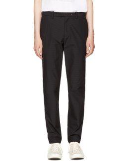 Black Corbet Trousers