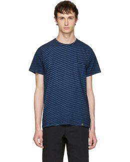 Indigo Striped James T-shirt