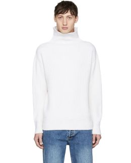 Off-white Andrew Funnel Neck Sweater