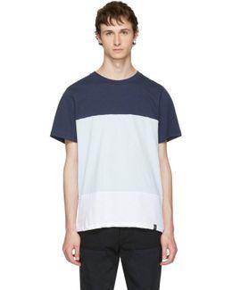 Blue & White Precision T-shirt