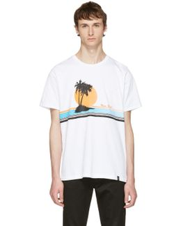 White 'new York' Vacation T-shirt